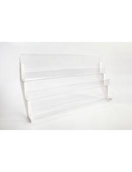 PETG Mag shelves c/w silver brackets