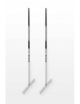 Gridwall Heavy Duty T-Legs (Pair) - Chrome