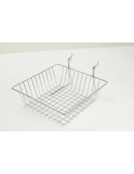 Multi-fit Basket Small 300 x 300 x 100mm - Chrome