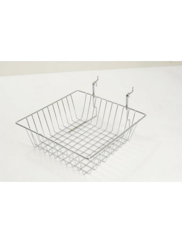 Multi-fit Basket Small 300 x 300 x 100mm - Chrome