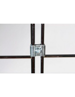 Gridwall Joining Clip - Bright Zinc
