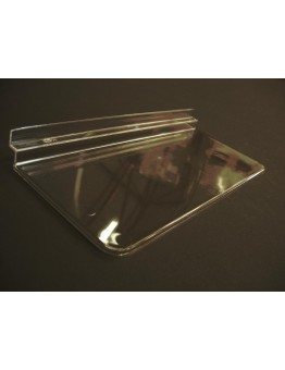 Slatwall Flat Shoe Shelf without Lip 250 (W) x 108mm (D)