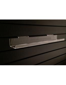 Slatwall Lipped Shelf