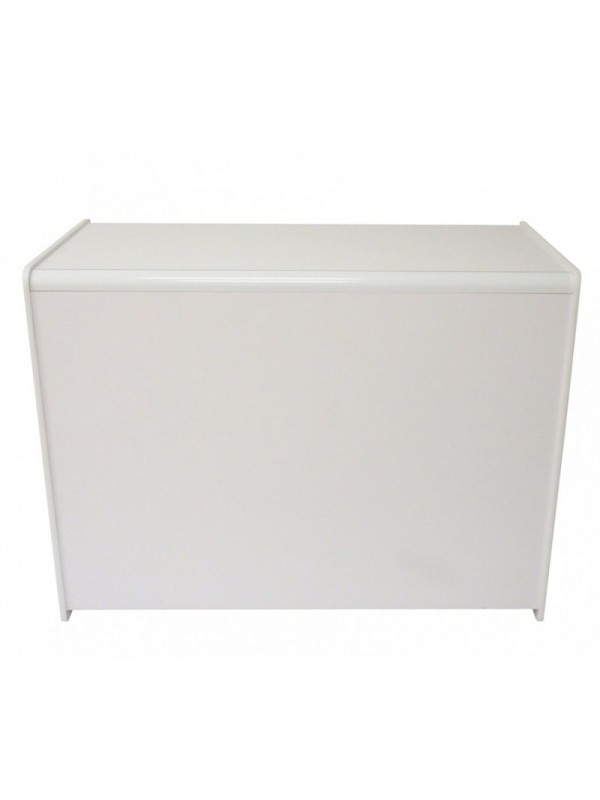 Solid Shop Counter 1200 (W) - White