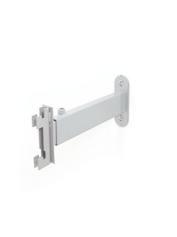Luna Adjustable Wall Fix Bracket Large - Silver