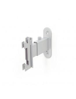 Luna Adjustable Wall Fix Bracket Small - Silver